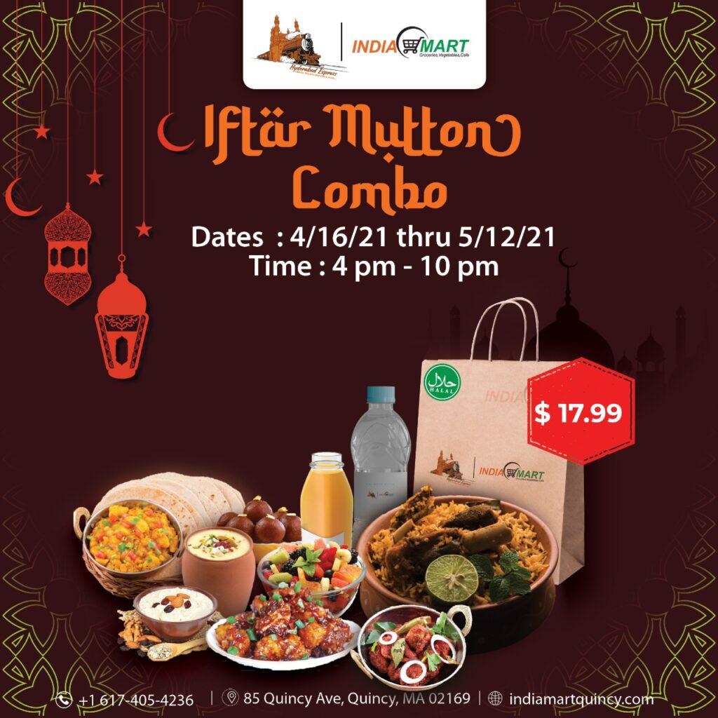 Iftar Mutton Combo