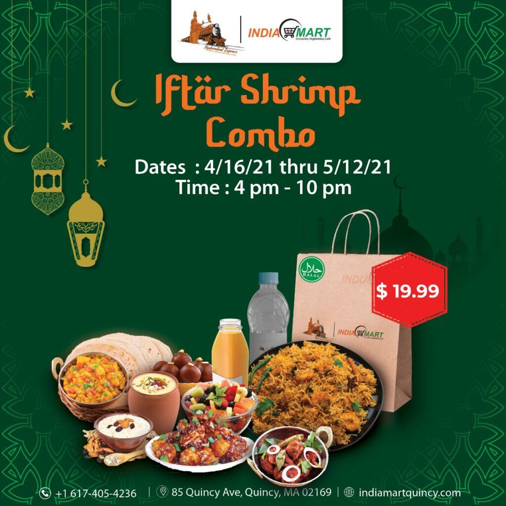 Iftar Shrimp Combo