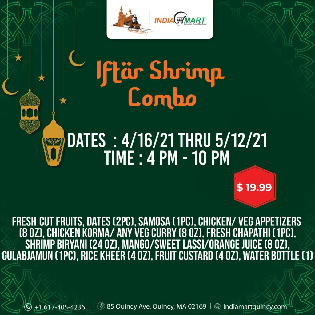 Iftar Shrimp Combo Text1